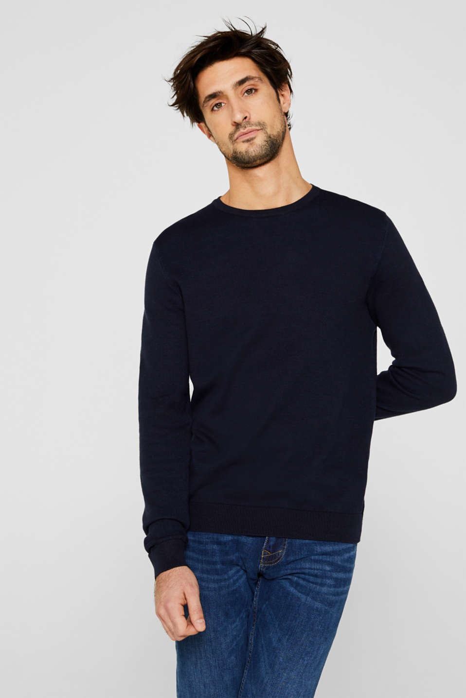 Sweaters, NAVY 5, detail image number 0