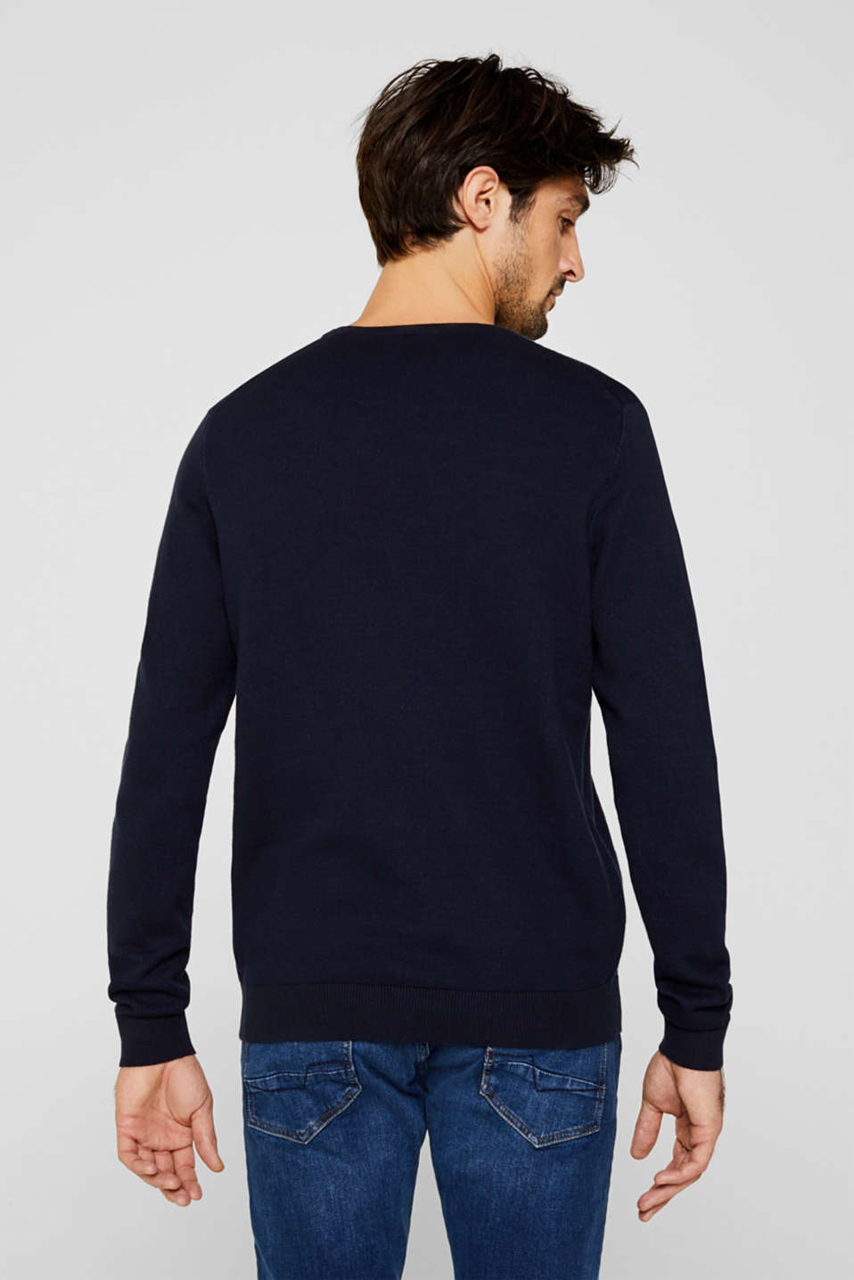 Sweaters, NAVY 5, detail image number 3