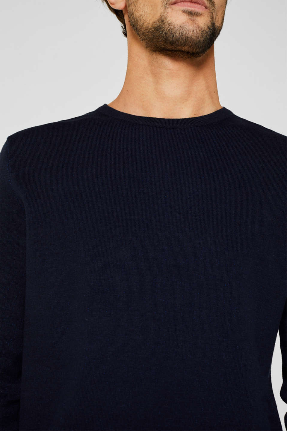 Sweaters, NAVY 5, detail image number 2