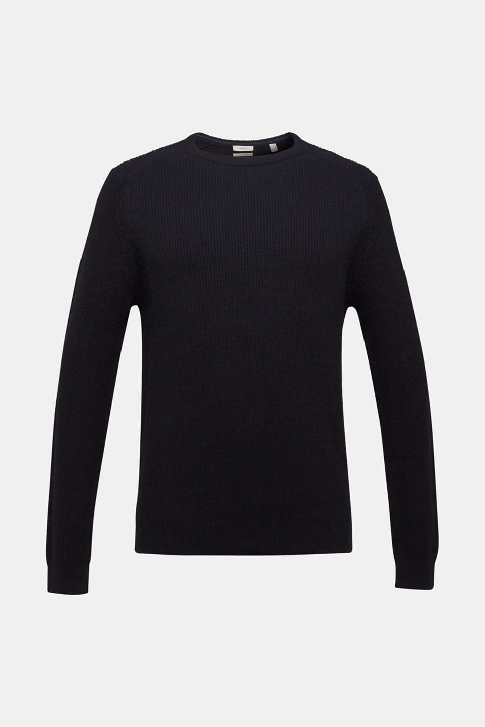 Sweaters, BLACK, detail image number 6