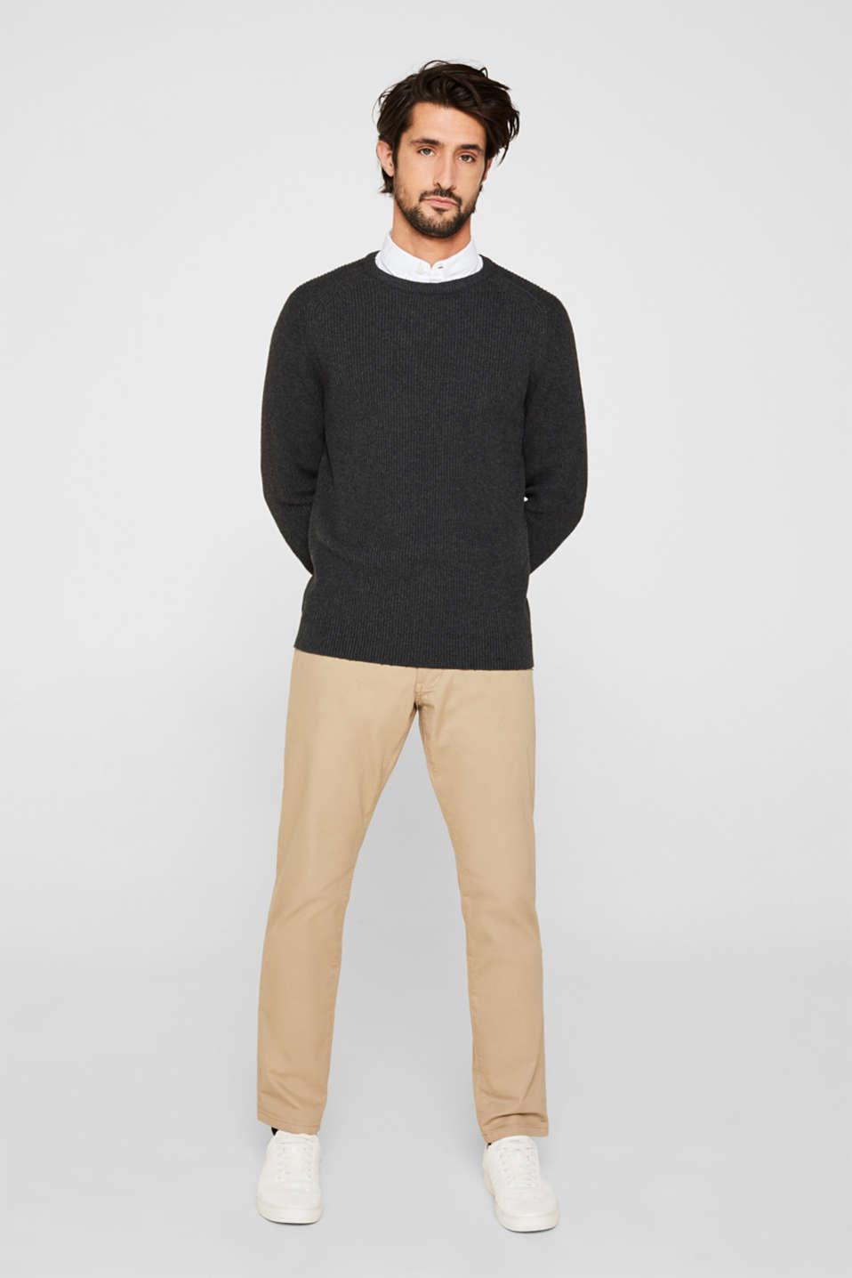 Sweaters, DARK GREY 5, detail image number 6