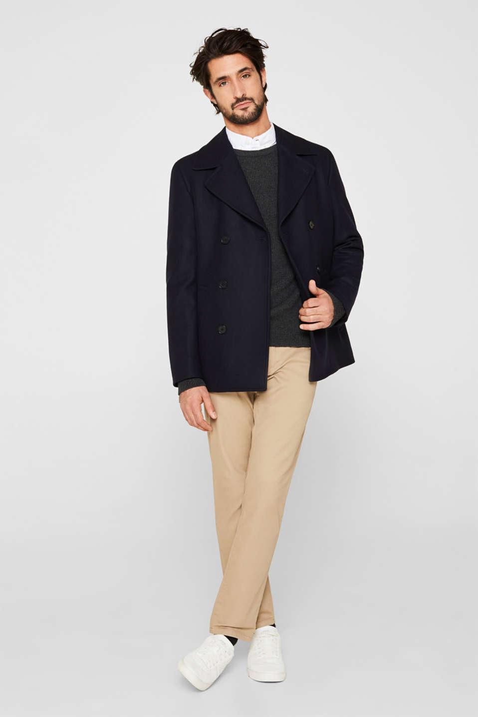 Sweaters, DARK GREY 5, detail image number 1