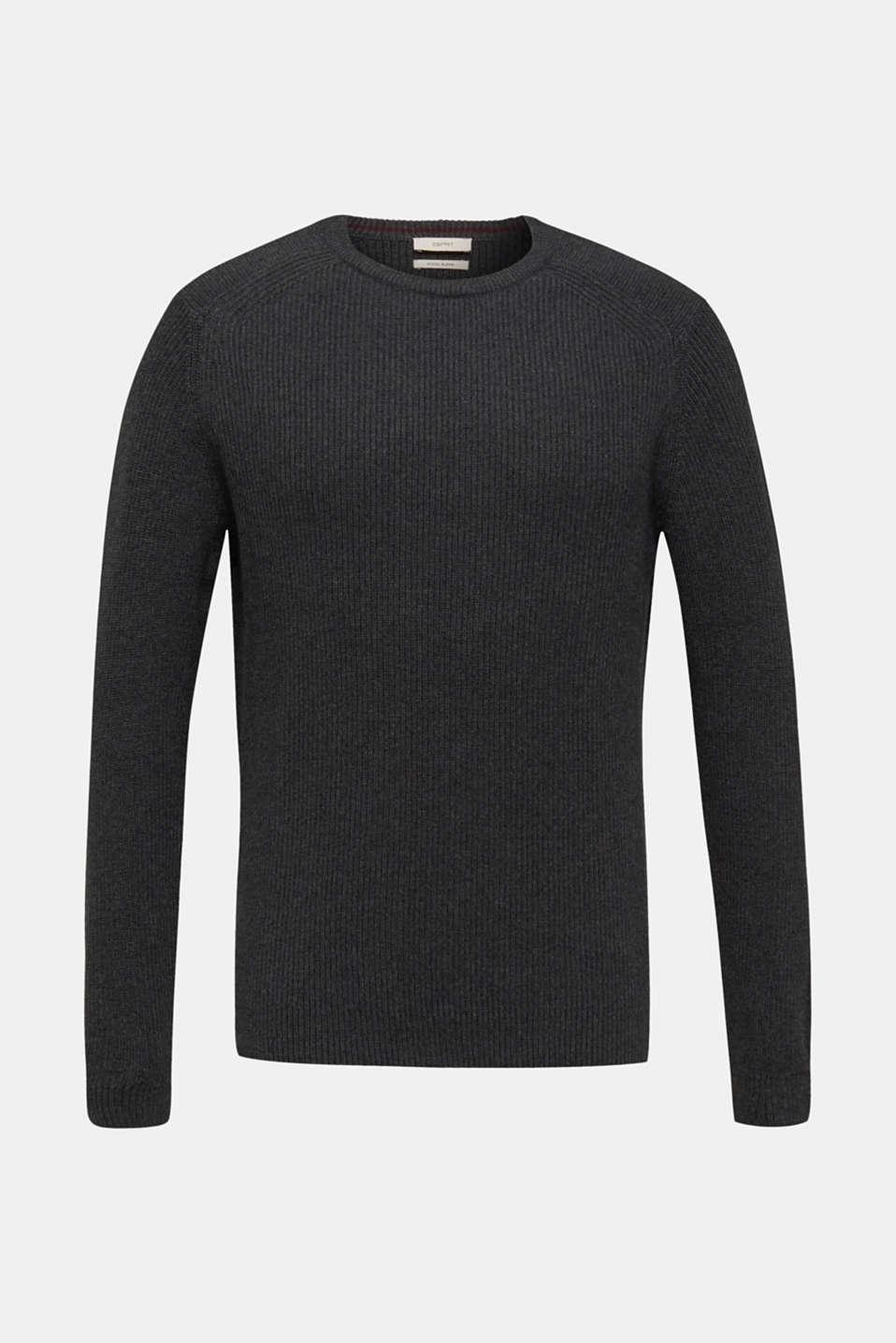 Sweaters, DARK GREY 5, detail image number 7