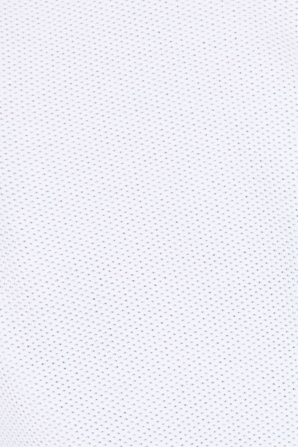 Textured jumper made of 100% cotton, WHITE, detail image number 2