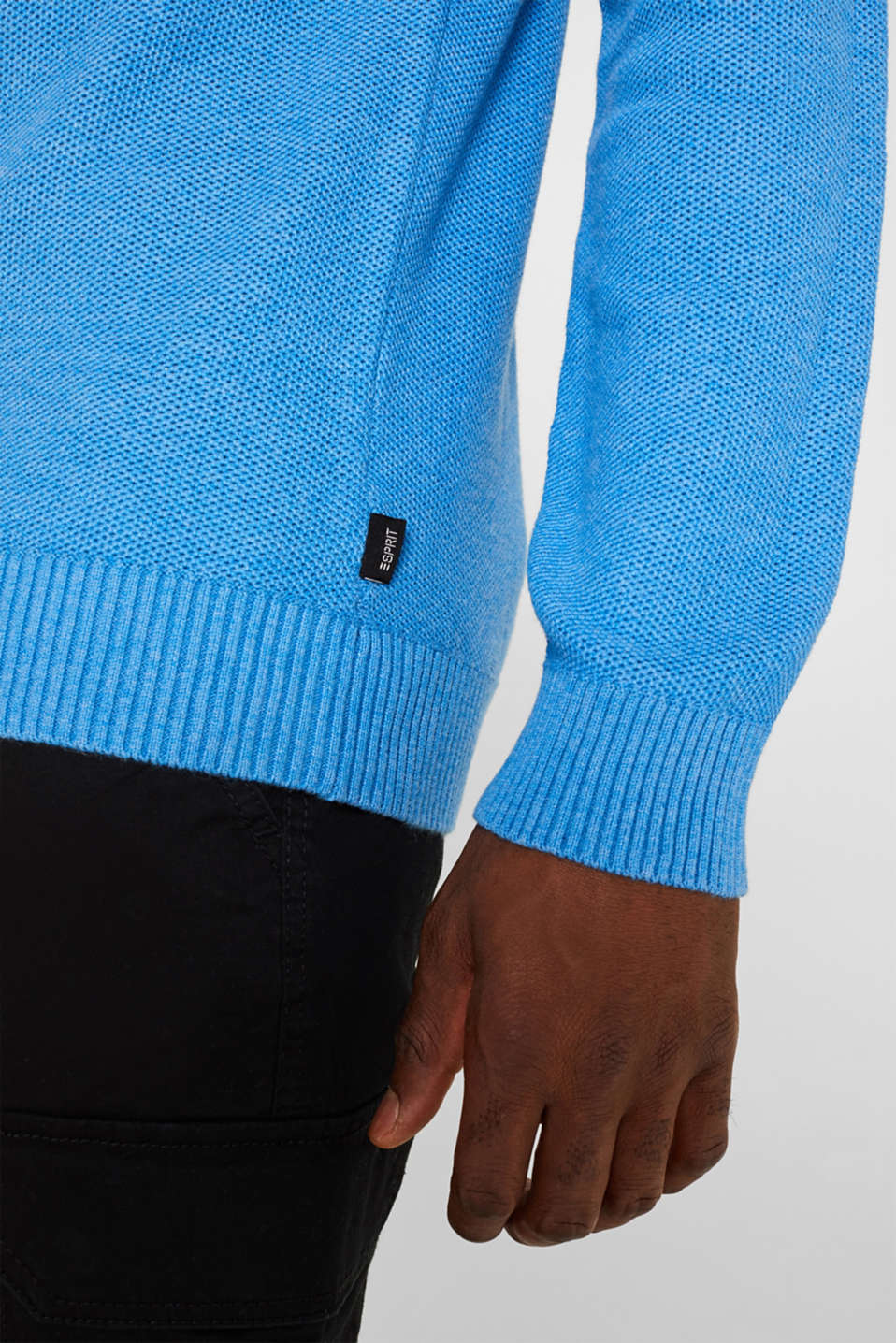 Sweaters, BRIGHT BLUE 5, detail image number 2