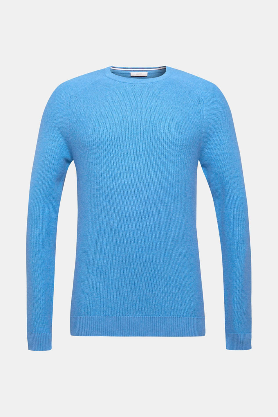 Sweaters, BRIGHT BLUE 5, detail image number 6