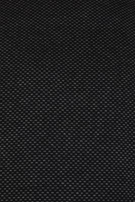 Jacquard jumper made of 100% cotton, BLACK 3, detail