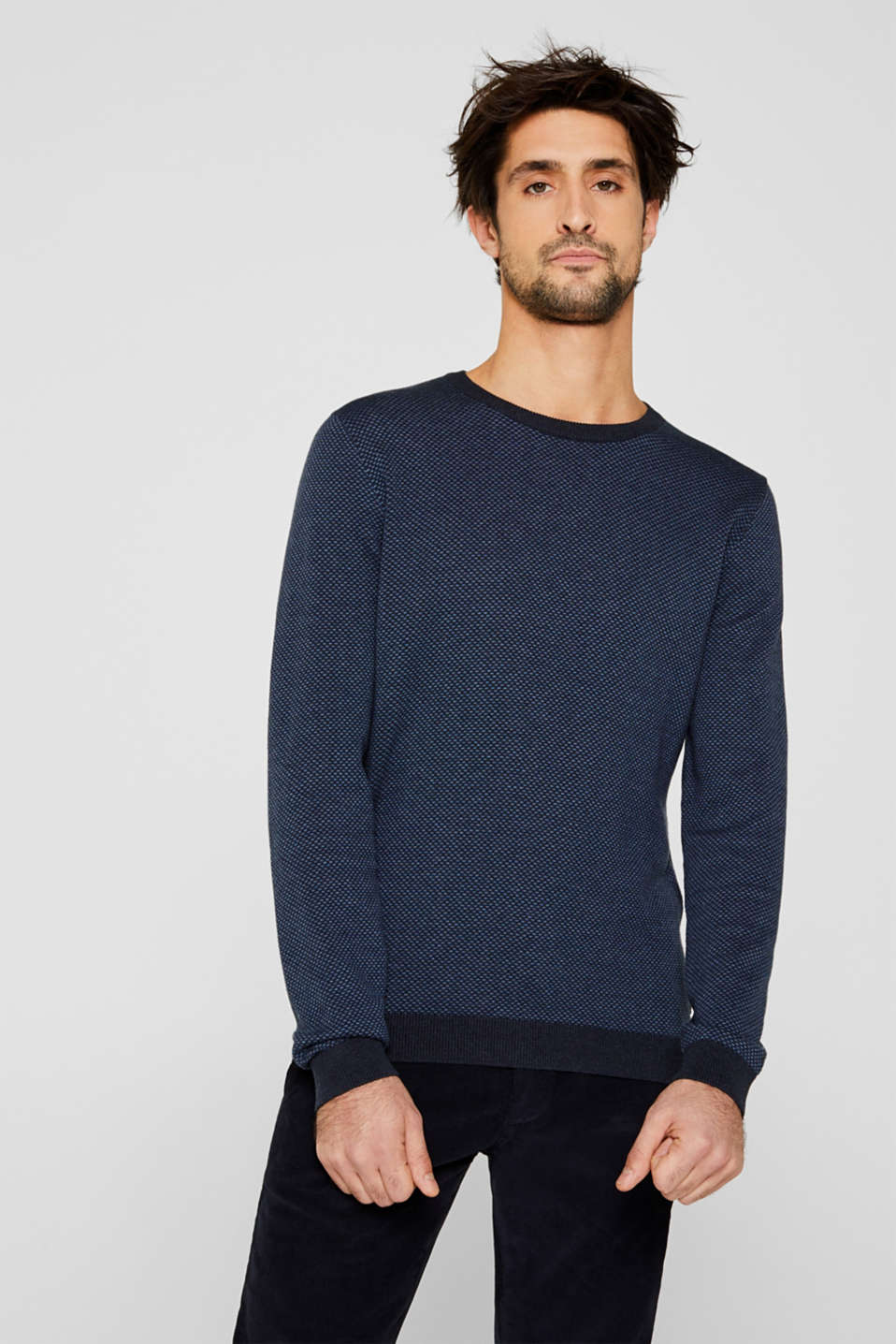 Sweaters, NAVY 4, detail image number 0