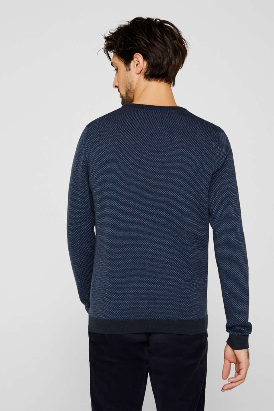 Sweaters, NAVY 4, detail image number 3