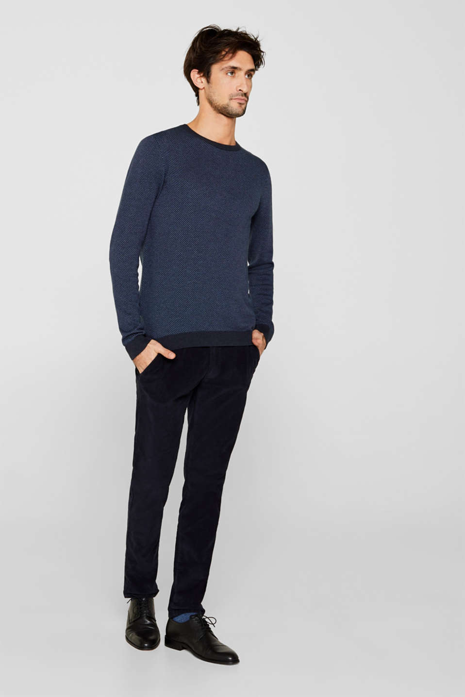 Sweaters, NAVY 4, detail image number 5