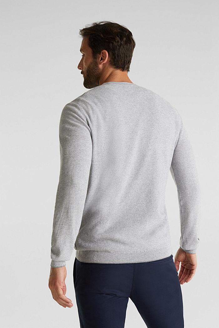 100% cotton jumper, GREY, detail image number 3