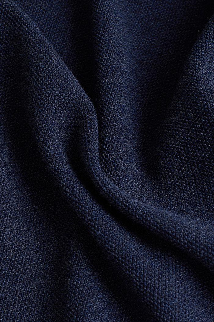 100% cotton jumper, NAVY, detail image number 4