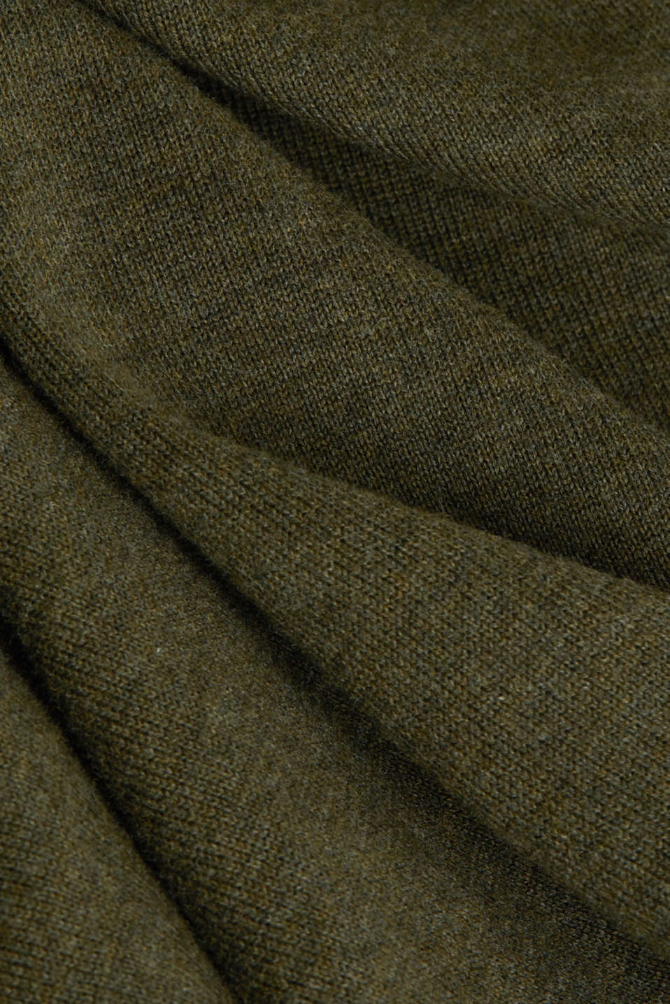 Mid-length zip jumper made of 100% cotton, DARK GREEN 5, detail image number 4