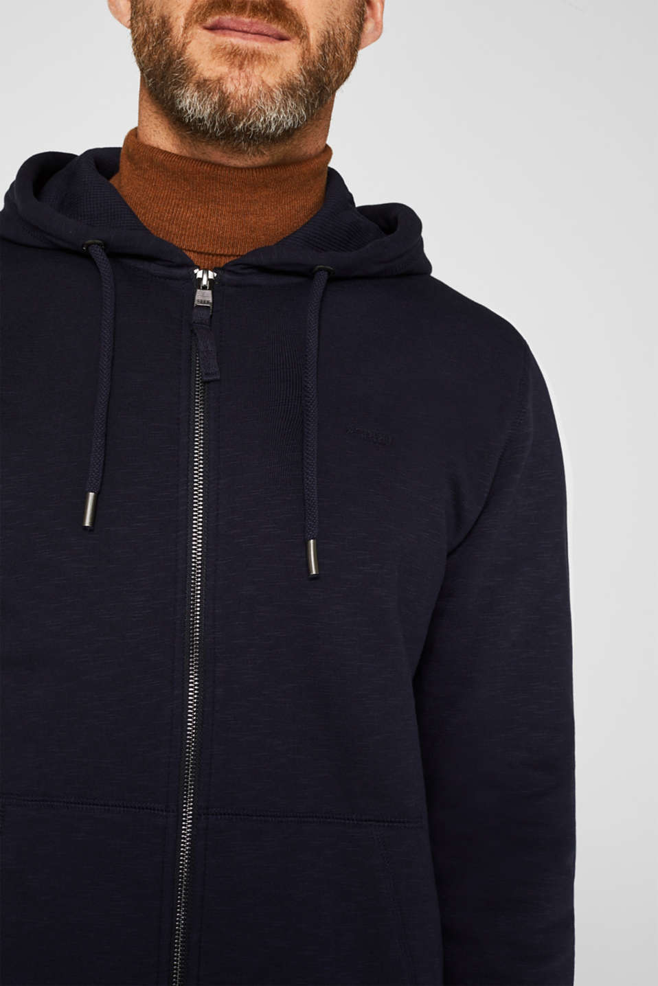 Sweatshirts, NAVY, detail image number 2