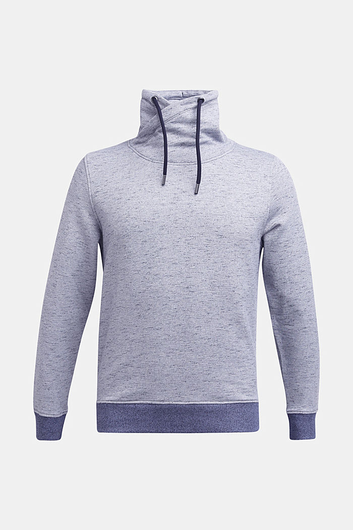 Sweatshirt mit Tunnelkragen, NAVY 5, detail image number 0