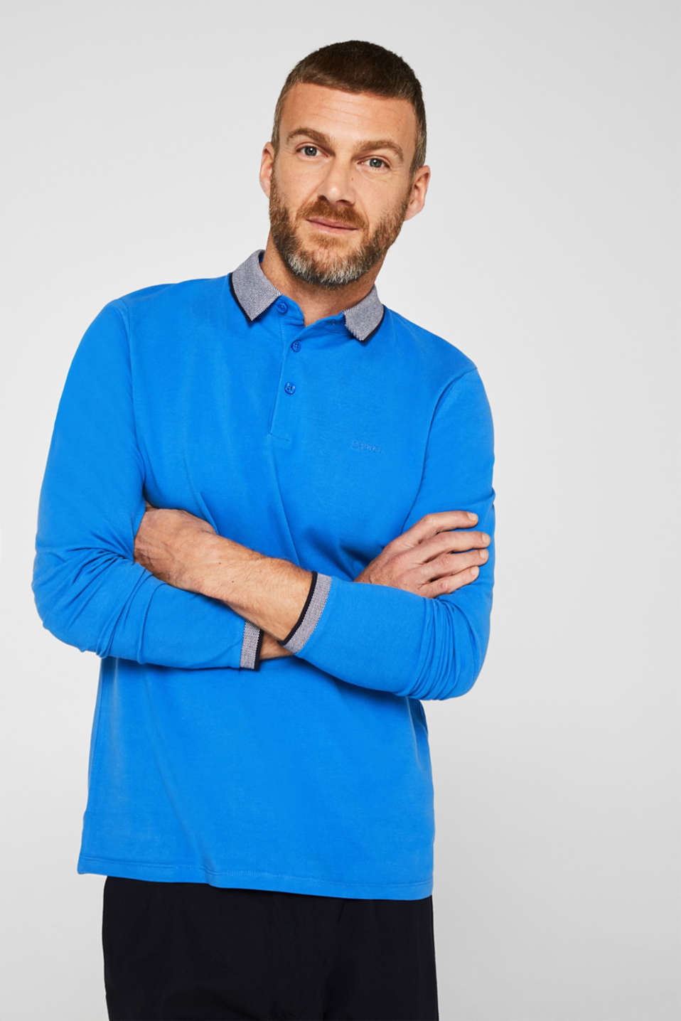 Polo shirts, BRIGHT BLUE, detail image number 0