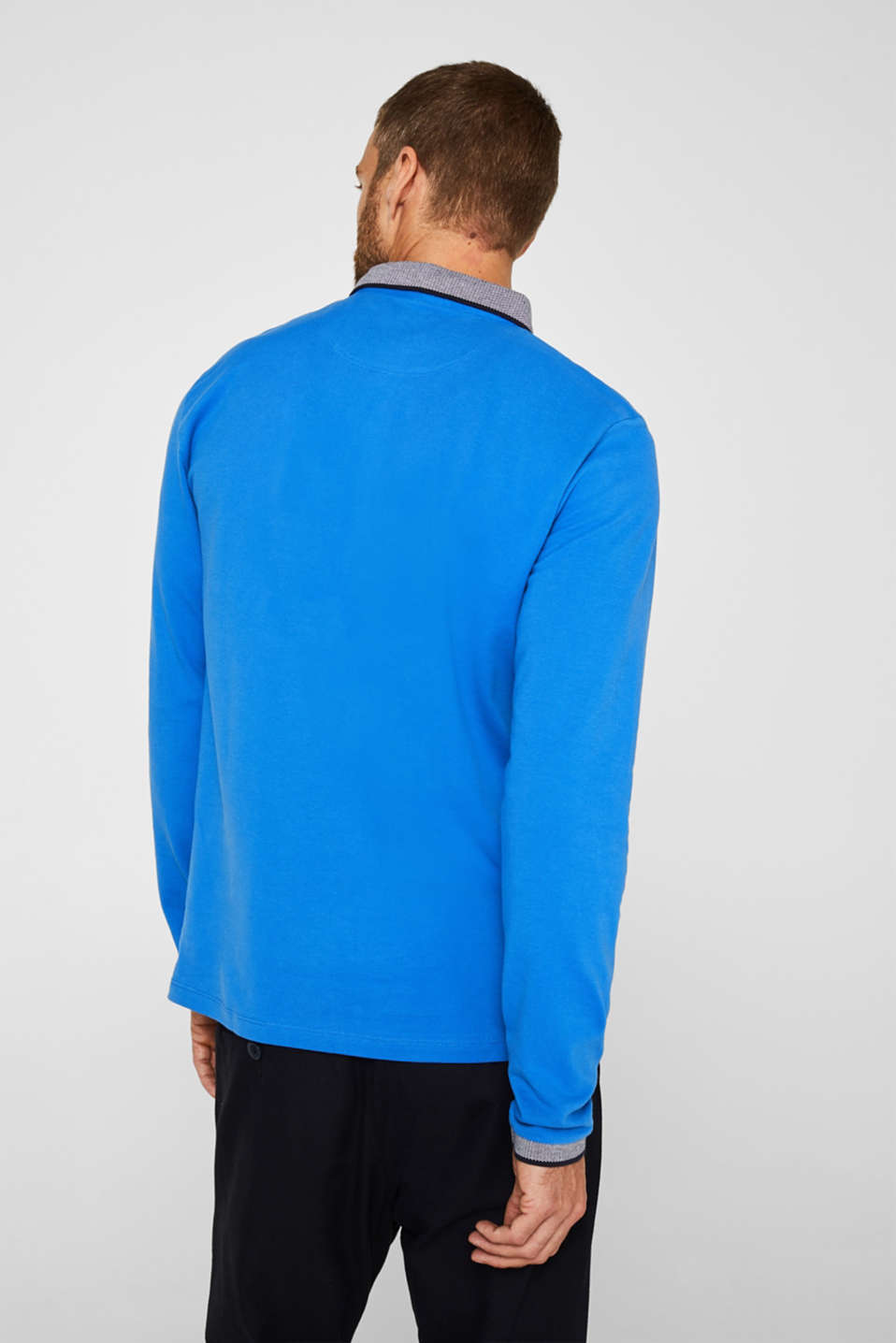 Polo shirts, BRIGHT BLUE, detail image number 3