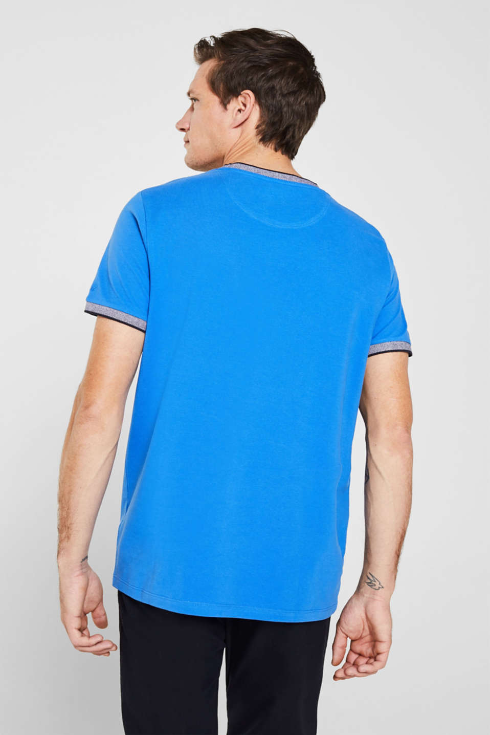T-Shirts, BRIGHT BLUE, detail image number 2