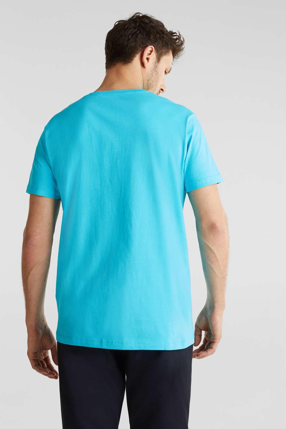 T-Shirts, AQUA GREEN, detail image number 3