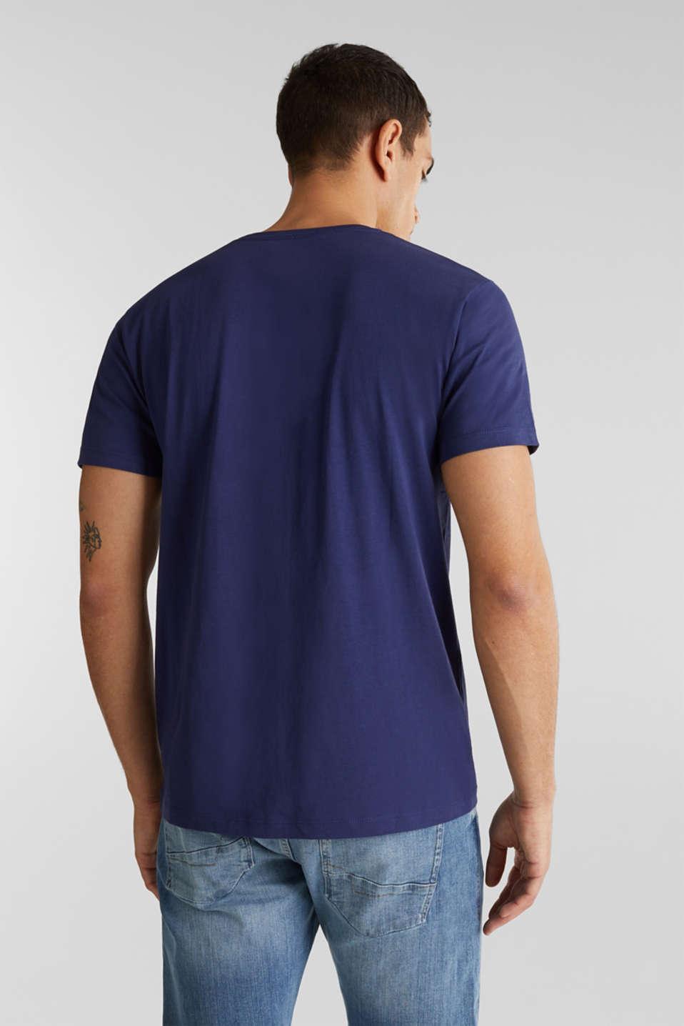 T-Shirts, DARK BLUE, detail image number 3