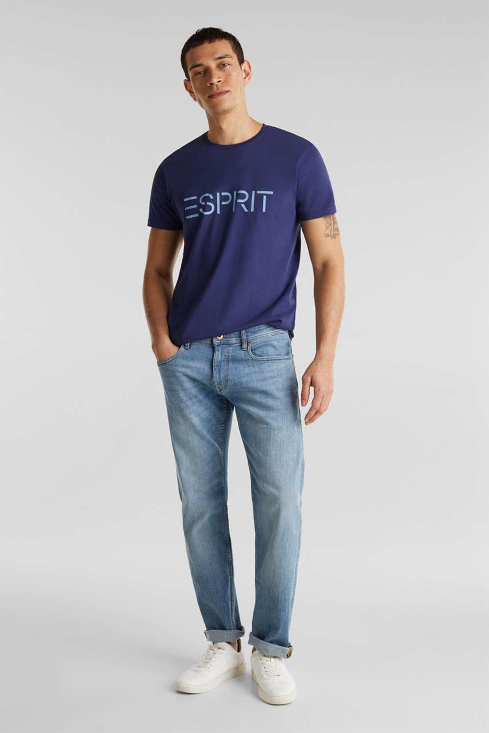 T-Shirts, DARK BLUE, detail image number 2