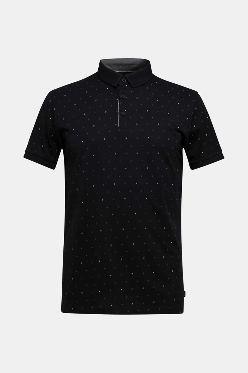 Polo shirts, BLACK 4, detail image number 7