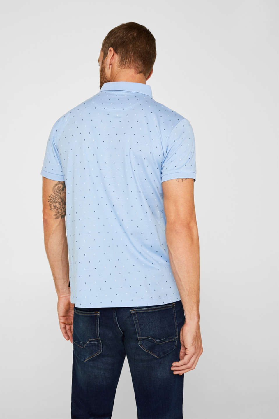 Polo shirts, LIGHT BLUE 4, detail image number 3