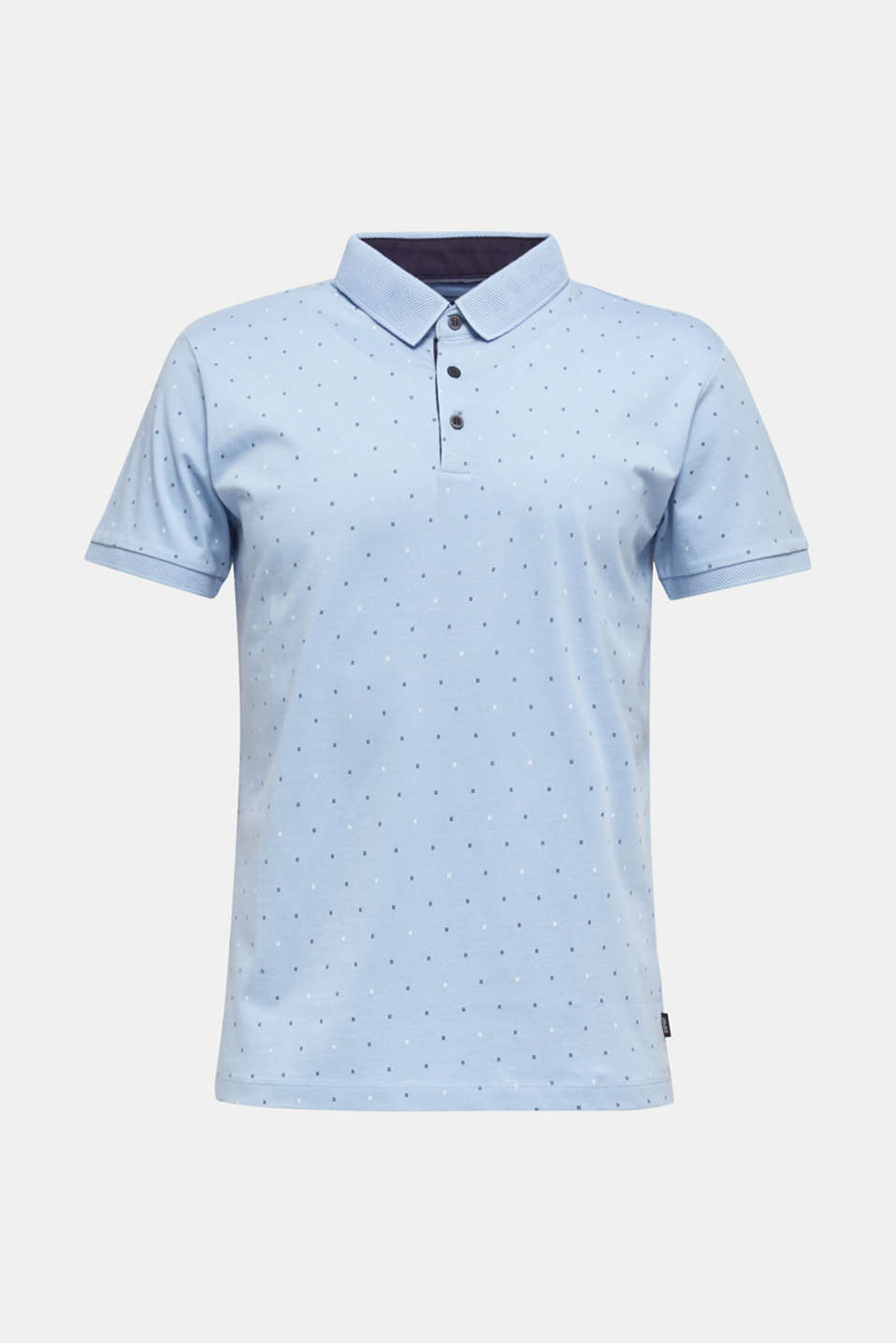 Polo shirts, LIGHT BLUE 4, detail image number 6