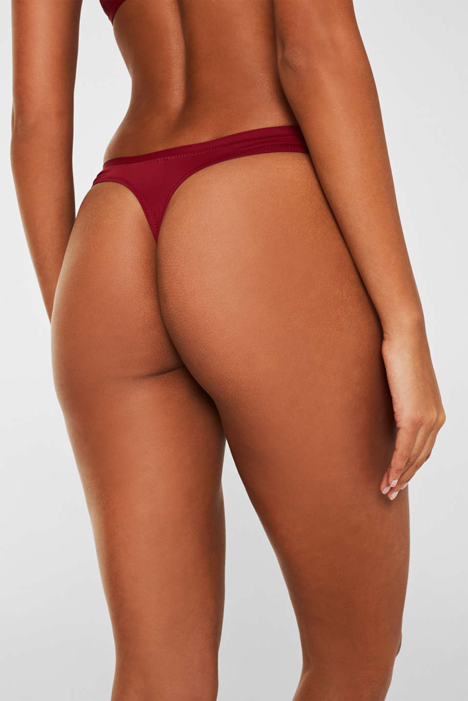 Bottoms, BORDEAUX RED, detail image number 1