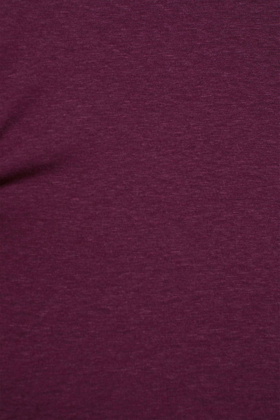 T-Shirts, AUBERGINE, detail image number 4