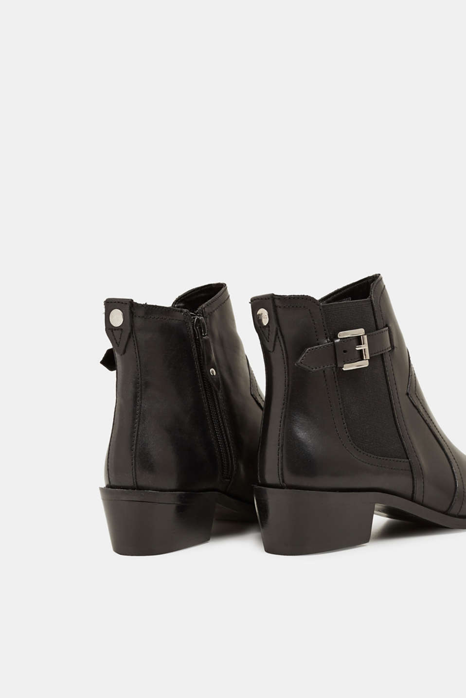 Leather boots, BLACK, detail image number 5
