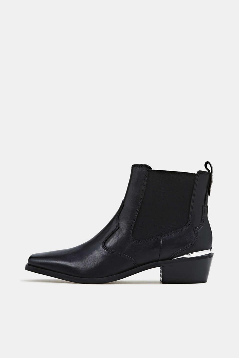 Esprit Cowboystøvler i læder i Esprits Online Shop