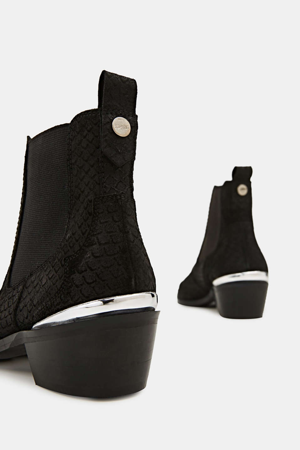 Leather shoes, BLACK, detail image number 5