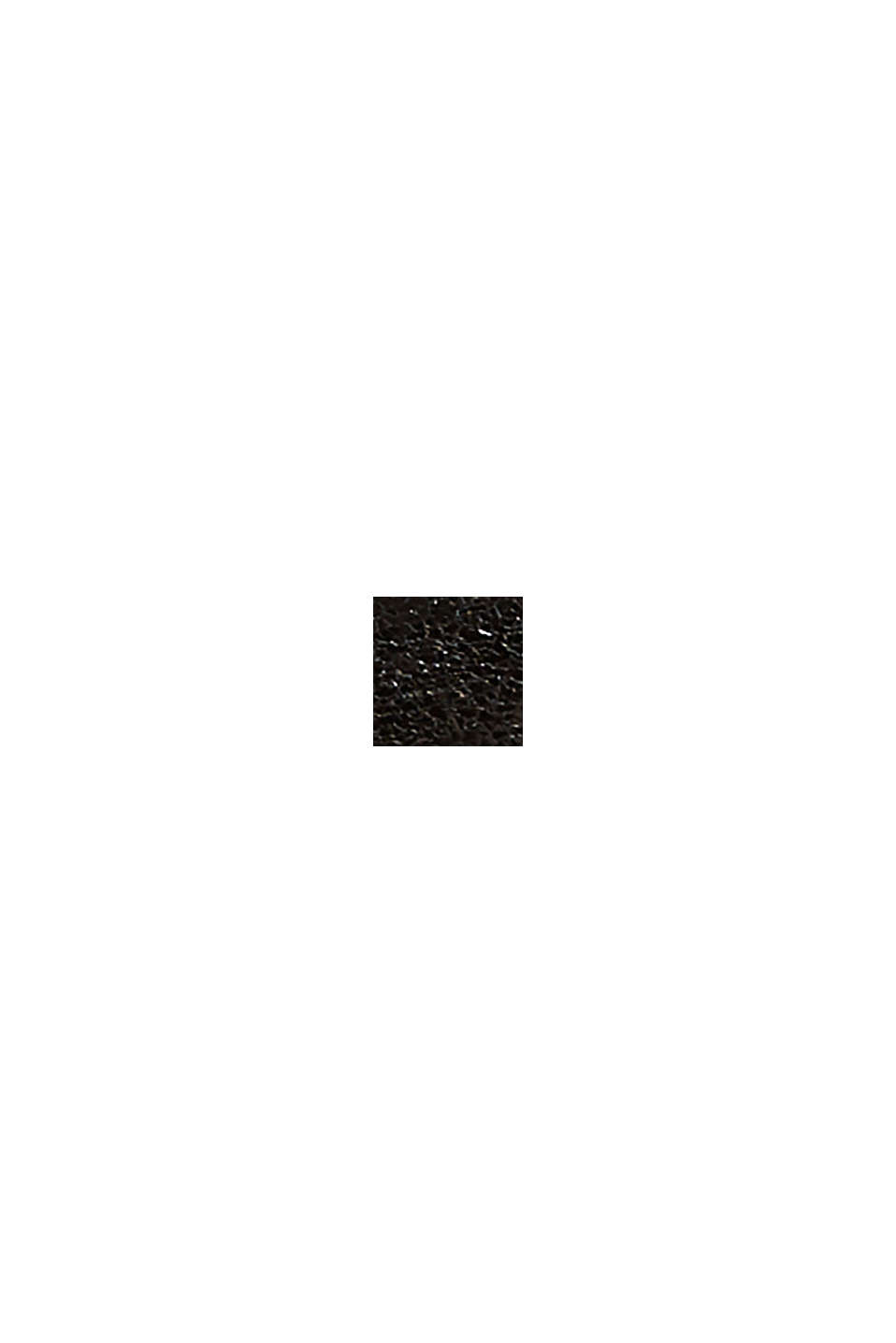 Veganer Glanz-Sneaker, BLACK, swatch