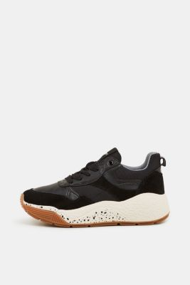 Trend trainers with an oversized sole, BLACK, detail