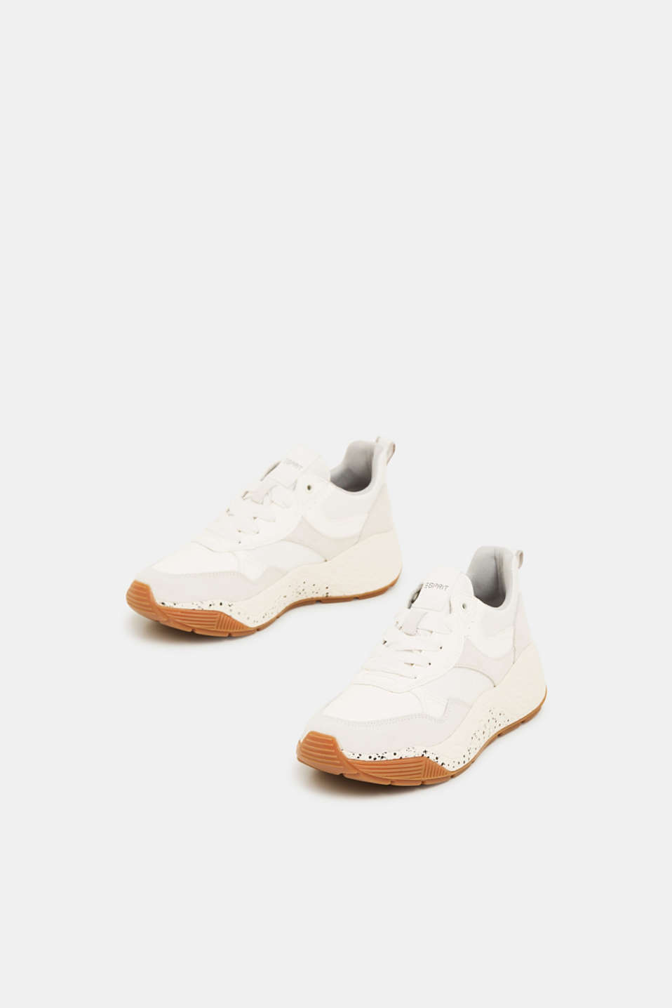 Trend trainers with an oversized sole, WHITE, detail image number 1
