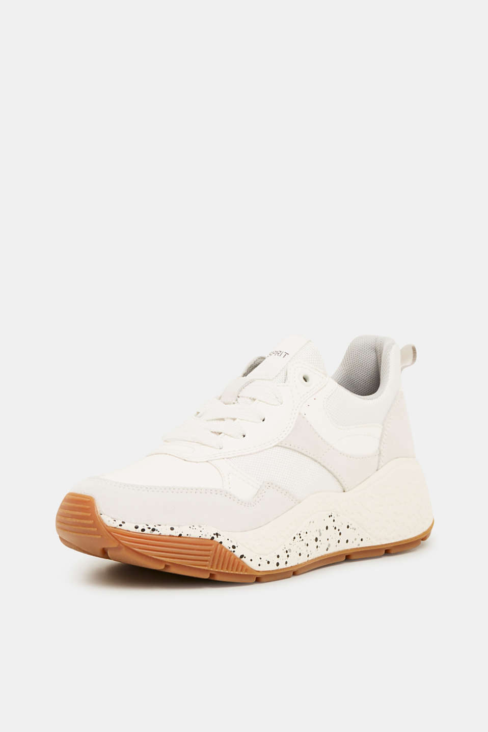 Trend trainers with an oversized sole, WHITE, detail image number 2