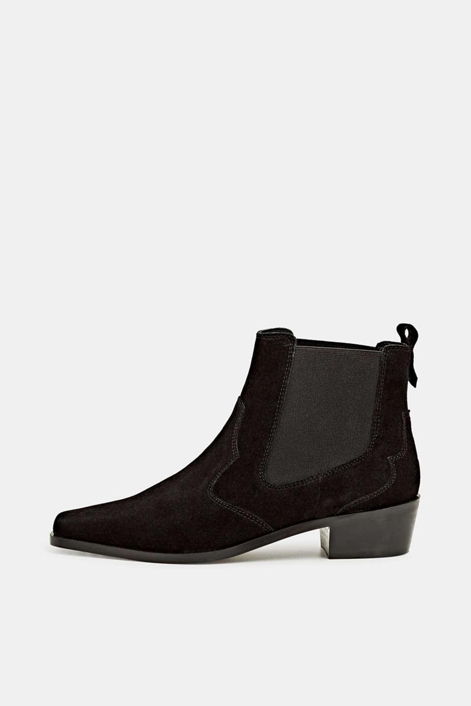 Formal Shoes leather, BLACK, detail image number 0