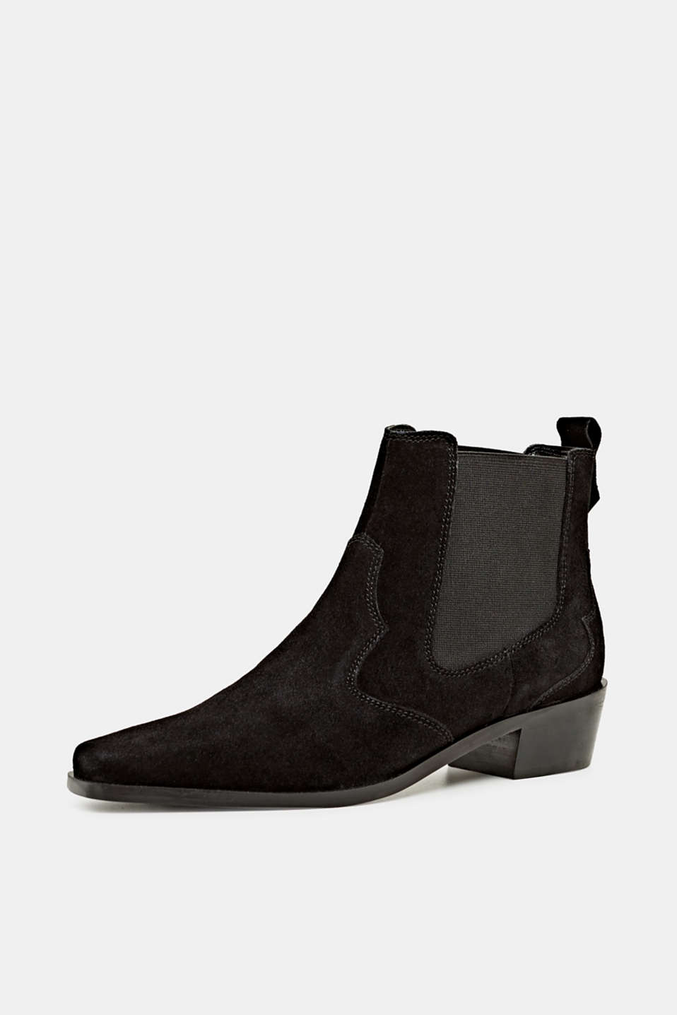Formal Shoes leather, BLACK, detail image number 1