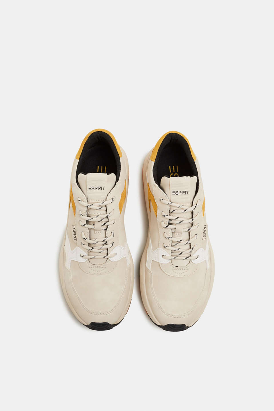With leather: Trainers with an oversized sole, ICE, detail image number 1