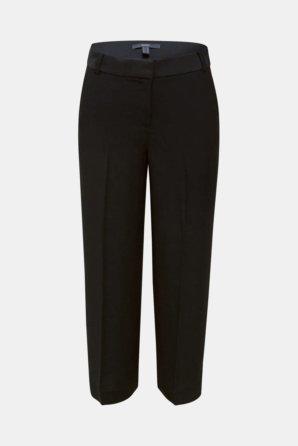 MATT SHINE mix + match culottes, BLACK, detail image number 6
