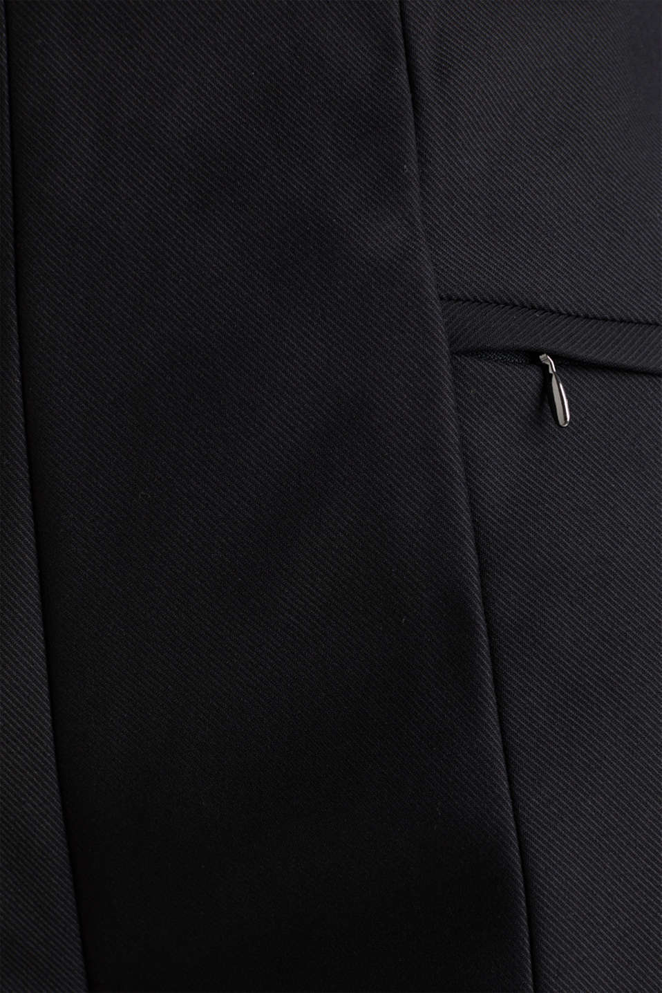 Ankle-length cigarette trousers, BLACK, detail image number 4