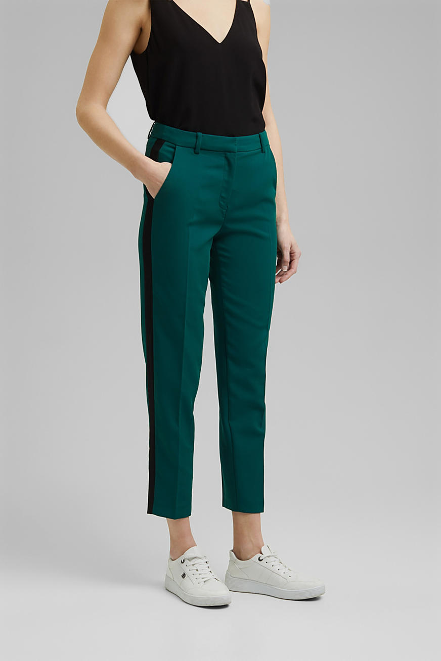 Pantalon stretch Mix + Match GALONSTRIPE