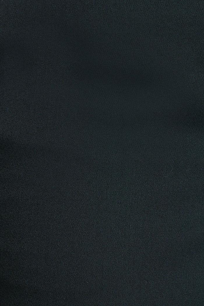 Stretch-Hose mit Bügelfalten, DARK TEAL GREEN, detail image number 4
