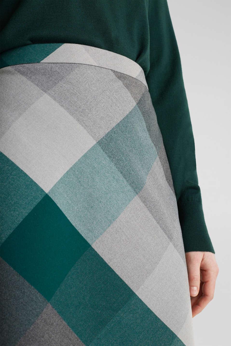 Skirts woven, BOTTLE GREEN, detail image number 2