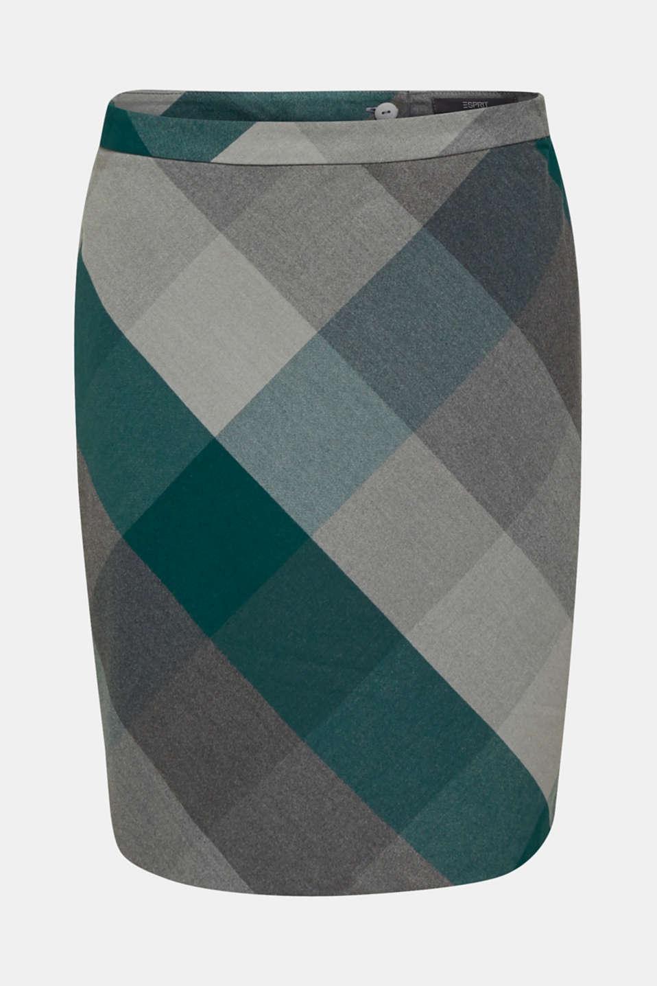 Skirts woven, BOTTLE GREEN, detail image number 6