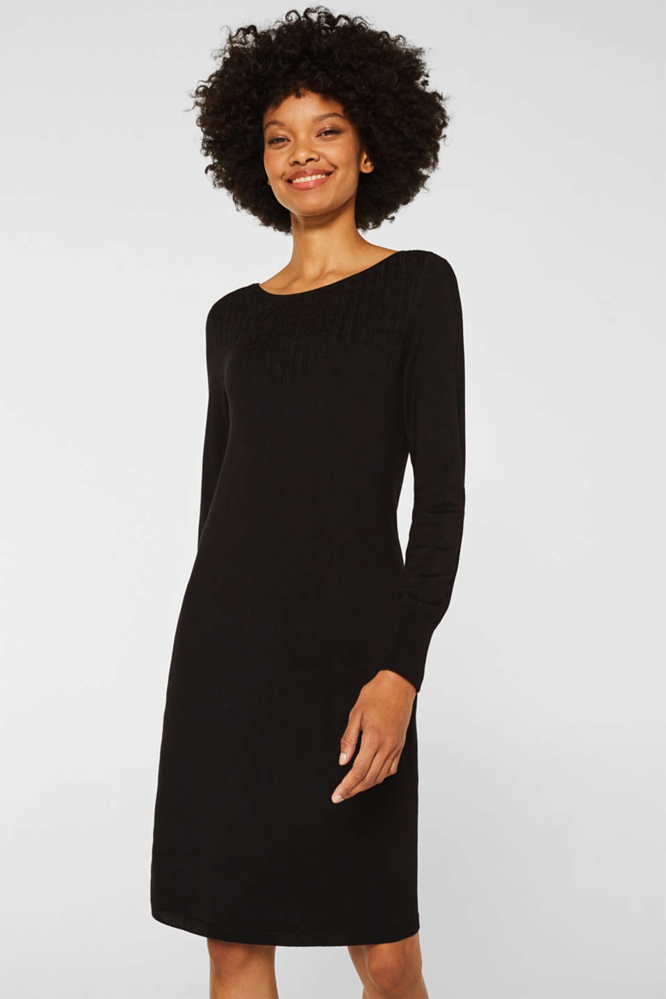 Knit dress with LENZING™ ECOVERO™