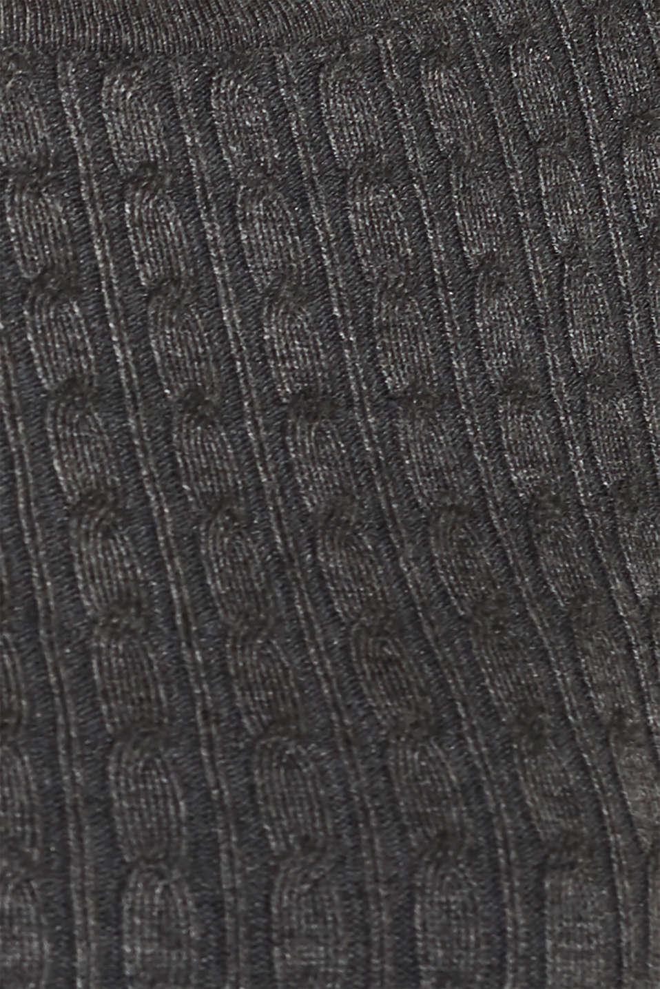 Dresses flat knitted, GUNMETAL 5, detail image number 4