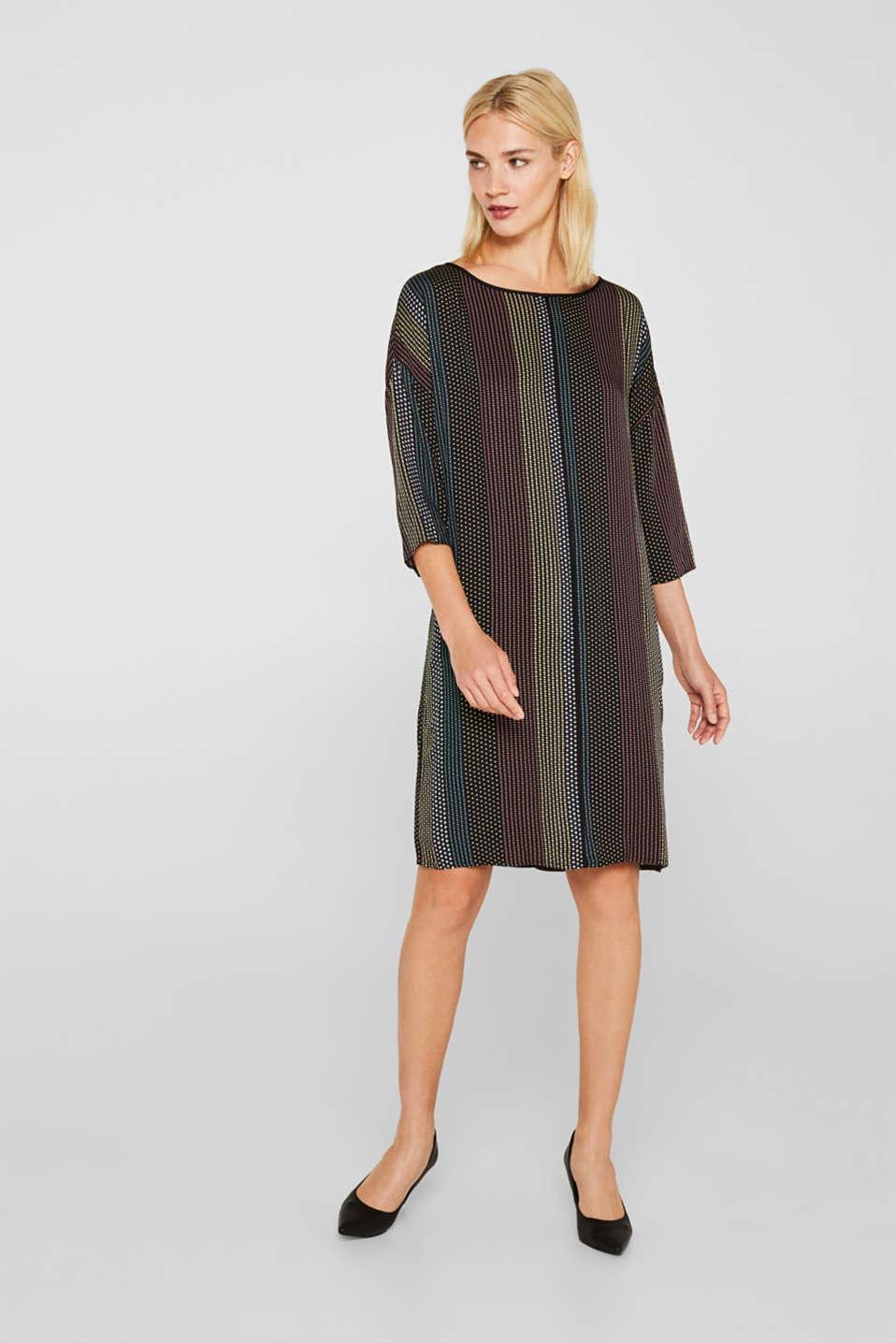 Dresses light woven, BLACK 3, detail image number 5