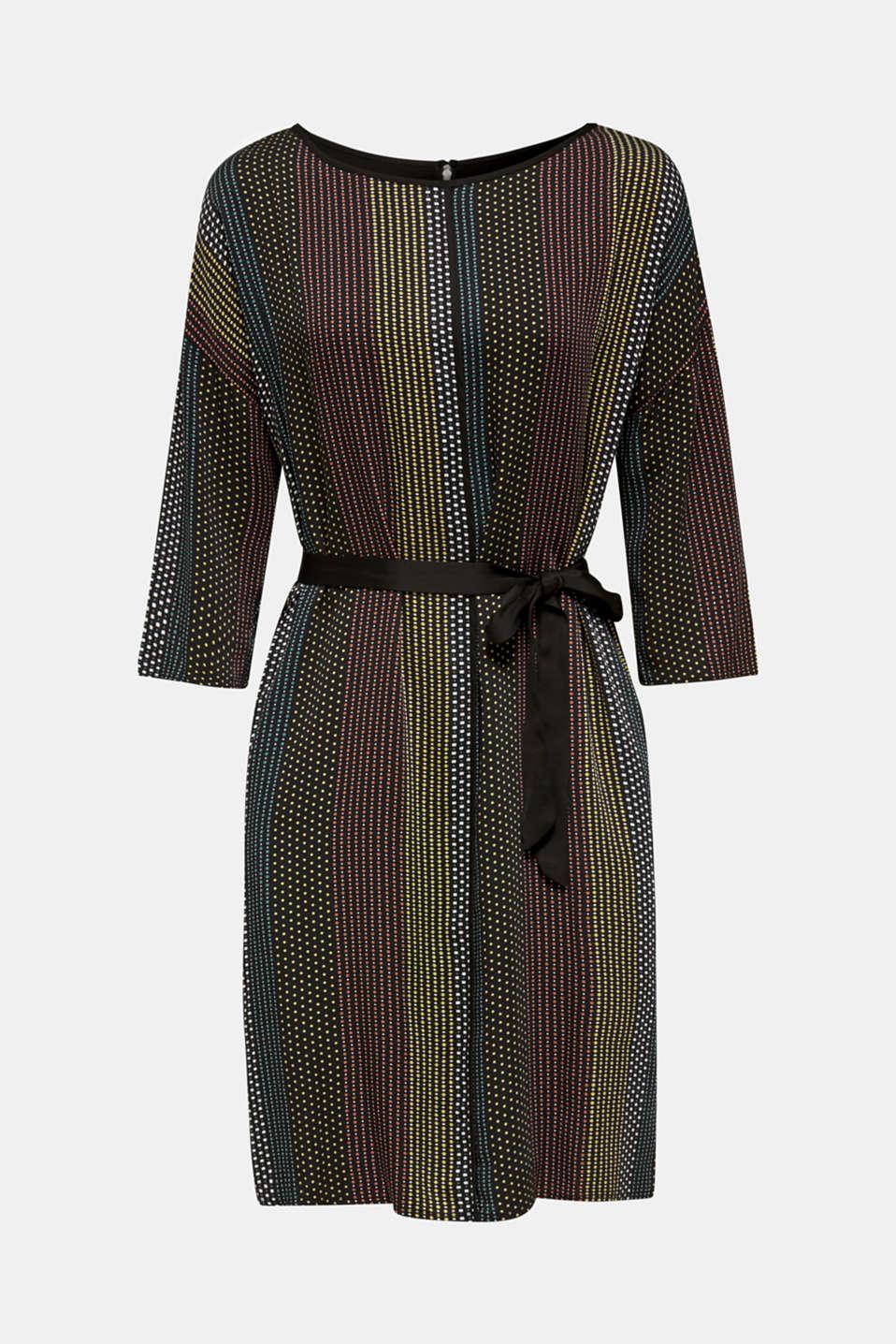 Dresses light woven, BLACK 3, detail image number 6